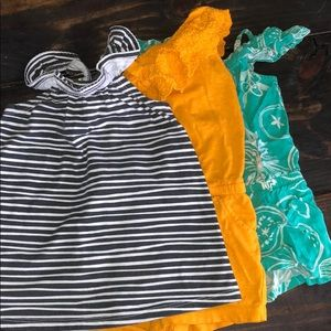 Cat & Jack Summer Outfits- Set Of 3